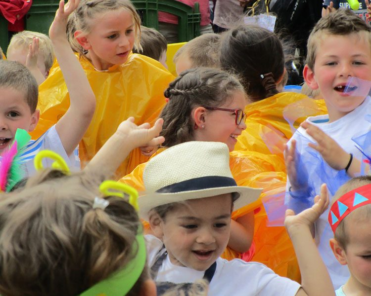 Fête De L'Ecole Maternelle Sainte Bernadette à Vitré
