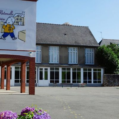 Cour De Récréation Ecole Sainte Thérèse à Vitré (35)