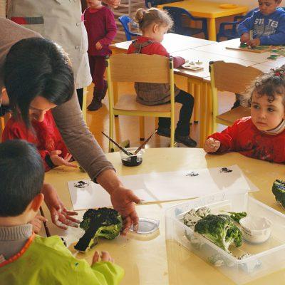 Enfants En Classe Ecole Notre-Dame De Vitré