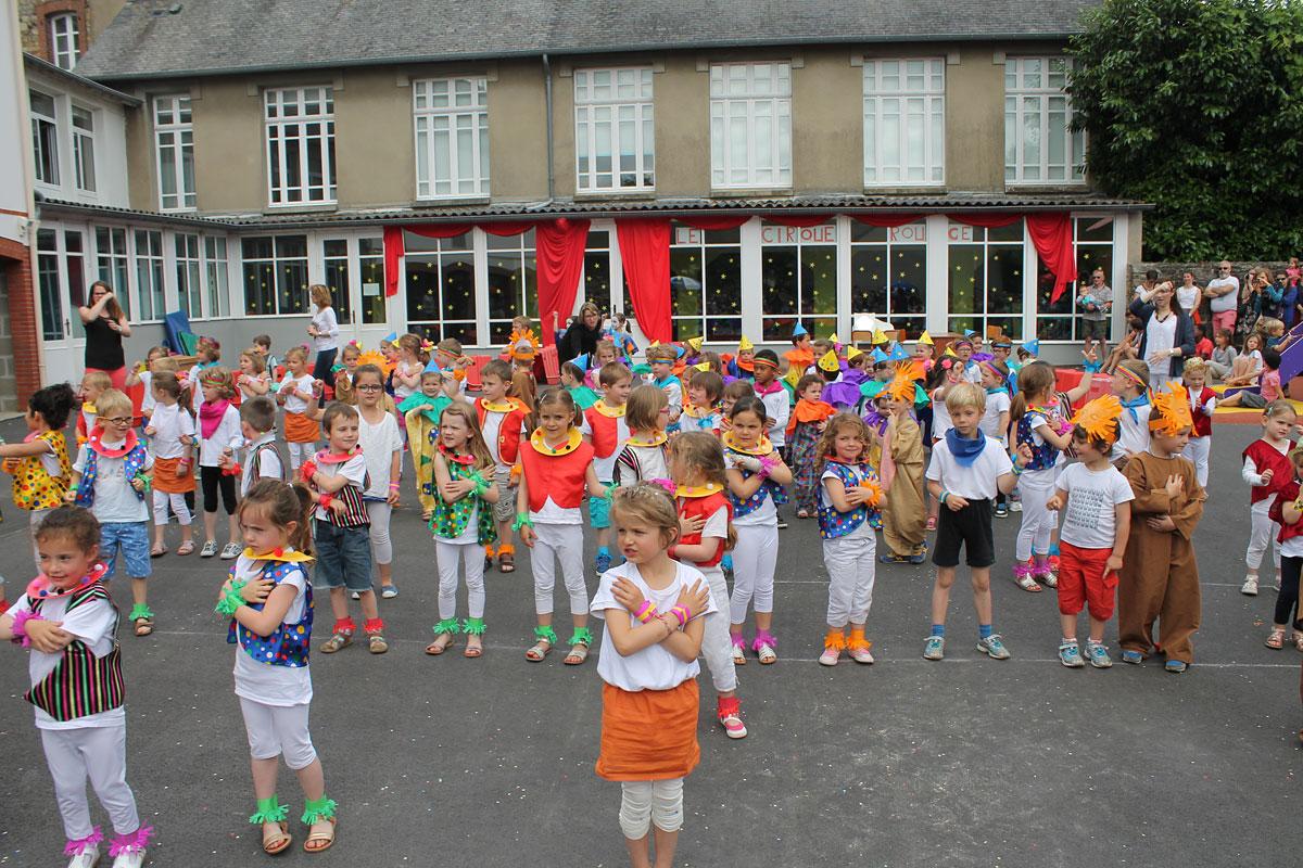 La fête de l'Ecole Sainte Therese (Vitré 35)